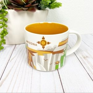 You are here Starbucks mug! Arizona Retired
